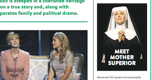 Lesley Garrett, Sound of Music, Auckland, Live magazine, Sarah Illingworth