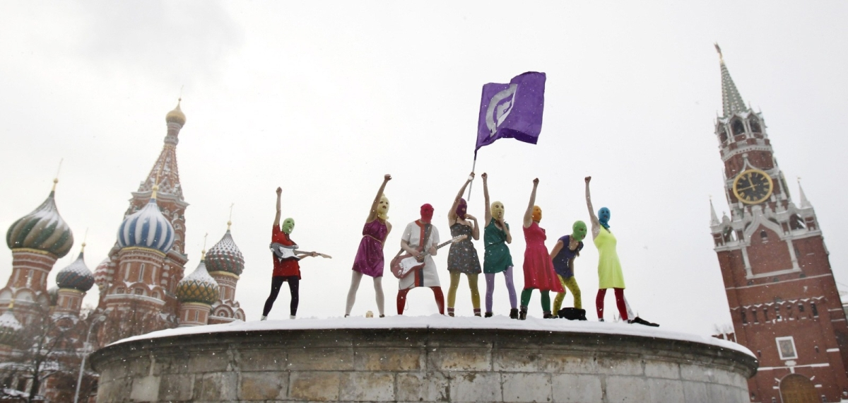 Pussy Riot, Impolitikal