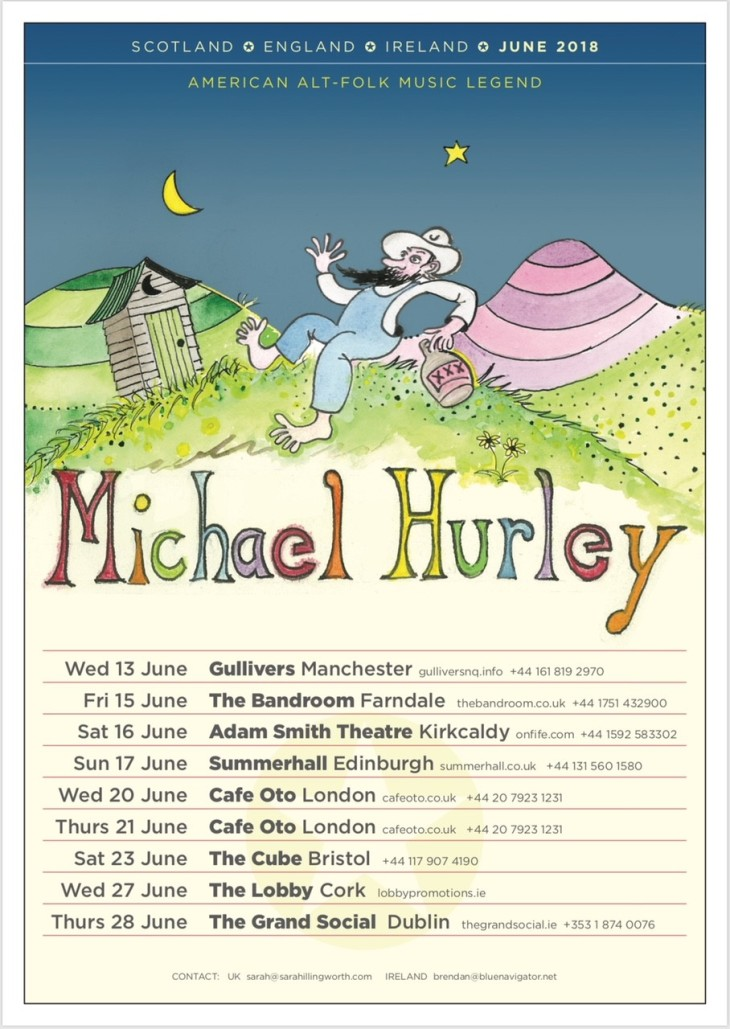 Michael-Hurley-UK-Ireland-tour-2018